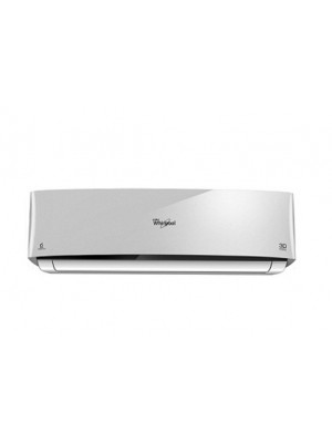 Whirlpool Air Conditioner Split 1.0 Ton 3D Cool Delux III Silver