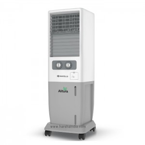 Havells Tower Air Cooler Alitura 20L White