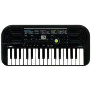 Casio Musical Keyboard Electronic SA47
