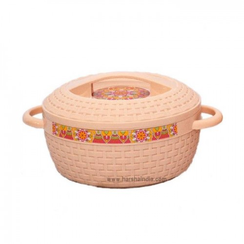 Cello Insulated Hot Pot Wicker 2500ML