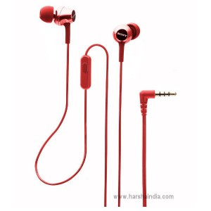 Sony Ear Phone MDR-EX155/APRQIN Red