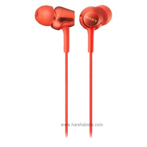 Sony Ear Phone MDR-EX255/APRQIN Red