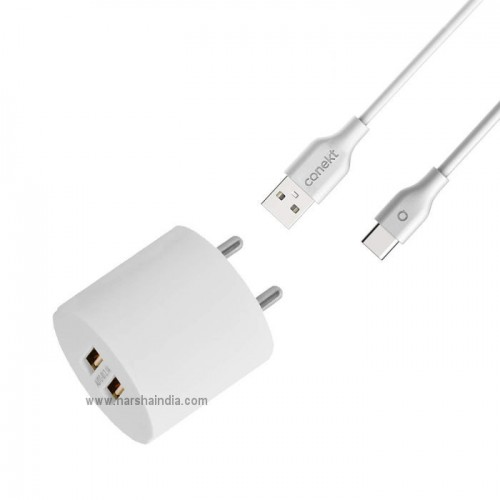 Conekt USB Home Charger 2.1A Dash Duo
