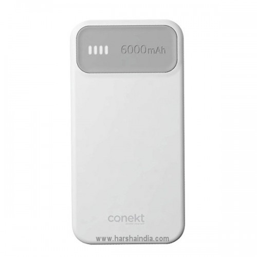 Conekt Power Bank Zeal Alpha 6000mah
