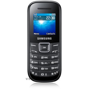 Samsung Cell Phone E1200 Black
