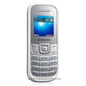 Samsung Cell Phone Guru E1200 White