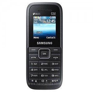 Samsung Cell Phone B110 Guru Plus Black