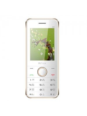 Intex Cell Phone Turbo S5 Champagne + White