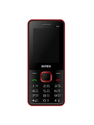 Intex Cell Phone Turbo S4 Black + Red
