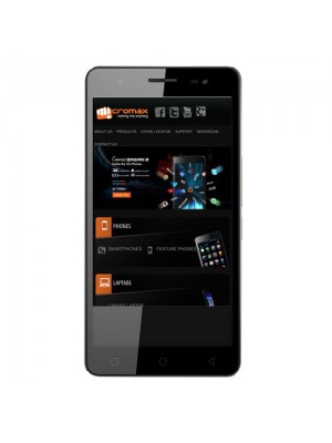 Micromax Cell Phone Q394 Canvas Juice 3 Plus Grey