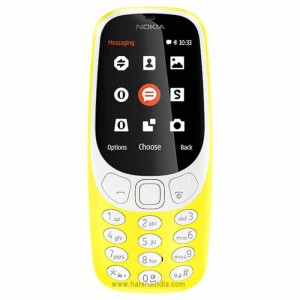 Nokia Cell Phone 3310 Dual Sim Yellow