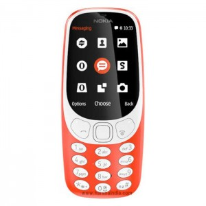 Nokia Cell Phone 3310 Dual Sim Warm Red