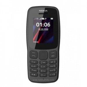 Nokia Cell Phone 106 Dual Sim Grey