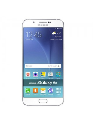 Samsung Cell Phone A800 Galaxy A8 32GB White
