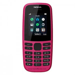 Nokia Cell Phone 105 Single Sim Pink