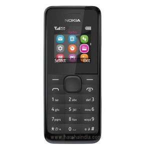 Microsoft Cell Phone 105 Dual Sim Black