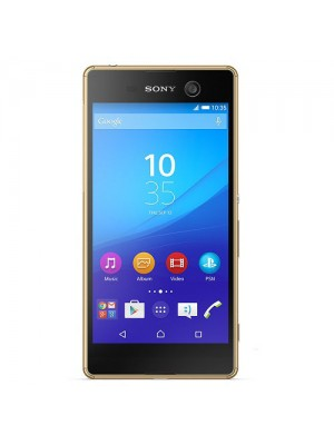 Sony Cell Phone Xperia M5 E5663 DS Gold