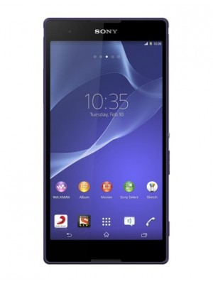 Sony Cell Phone Xperia T2 Ultra D5322 Dual Sim Purple