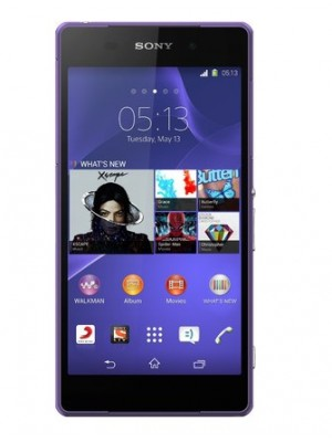 Sony Cell Phone Xperia Z2 D6502 Purple