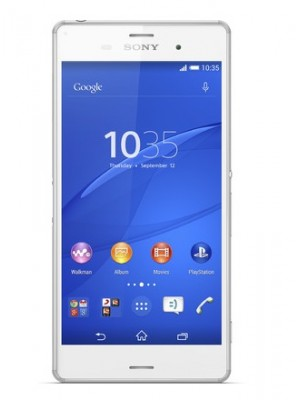 Sony Cell Phone Xperia Z3 D6653 White