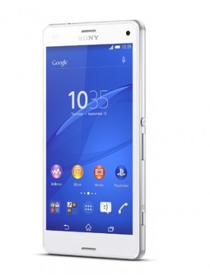 Sony Cell Phone Xperia Z3 Compact D5833 White