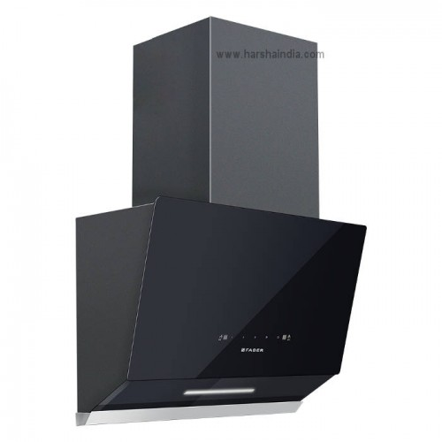Faber Chimney Hood Vertex FL TC BK 90