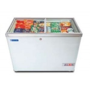 Blue Star Chest type Glass Top Freezer 300L GT300A