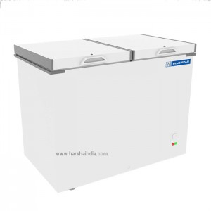 Blue Star Chest Freezer Double Door 484 ltr CHFDD500MGPW