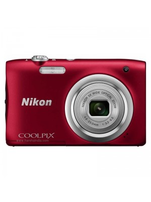 Nikon Digital Camera Coolpix A100 Red