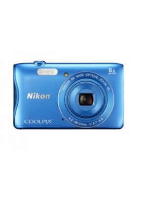 Nikon Digital Camera Coolpix S3700 Blue