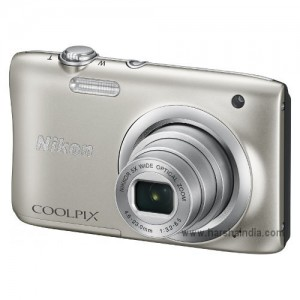 Nikon Digital Camera Coolpix A100 Silver