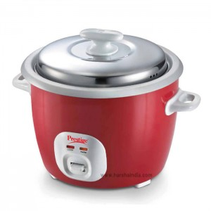 Prestige Rice Cooker Delite Cute 1.8-2 Silky Red 42205