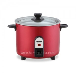 Panasonic Electric Rice Cooker SR-3NATBU Burgundy