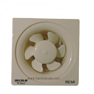 Remi Fresh Air Fan 150MM Decor High Speed Ventilating