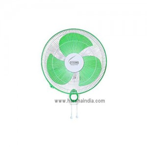 V-Guard Wall Mounting Fan 400MM Finesta Std Green White