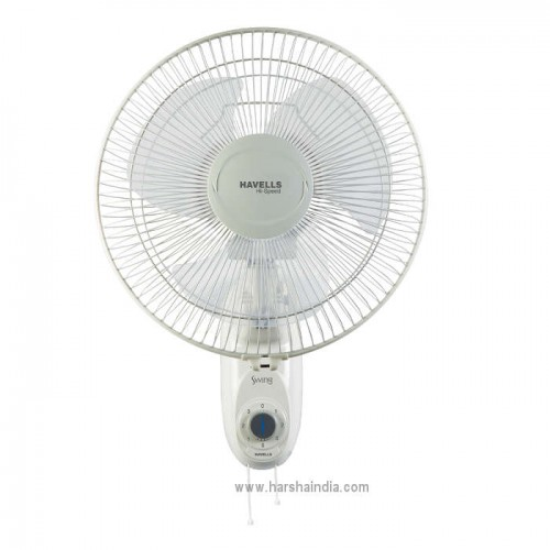 Havells Wall Fan 300MM Swing High Speed Off White
