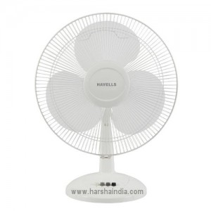 Havells Table Fan 400MM Swing LX White