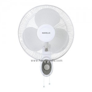 Havells Wall Fan 400MM Platina White