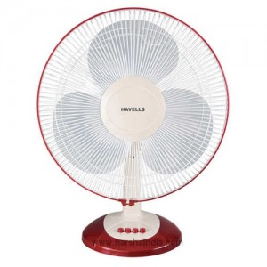 Havells Table Fan 400MM Swing LX Cherry