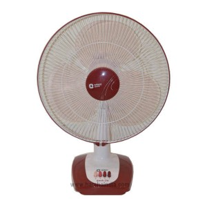 Orient Table Fan 400MM Desk 26 Toscana Red-White