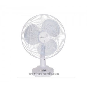 Orient Table Fan 400MM Desk 26 Crystal White