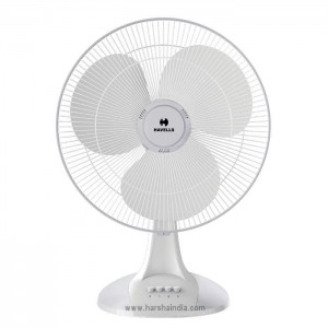 Havells Table Fan 400MM Sameera White