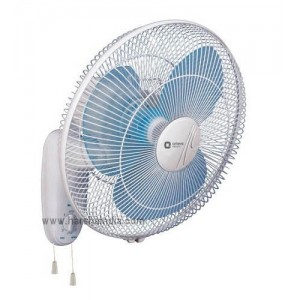 Orient Wall Mounting Fan 400MM Wall 44 Crystal White