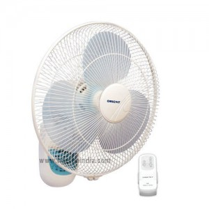 Orient Wall Mounting Fan 400MM Wall 49 With Remote