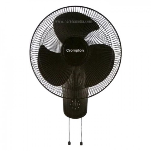 Crompton Wall Fan 400MM HS Whirlwind Gale Black