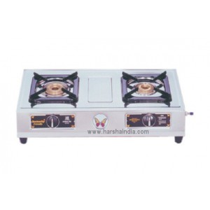 Butterfly Gas Stove SS 2 Burner Friendly