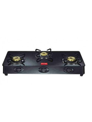 Prestige Gas Stove Glass Top 3 Burner Royale GT 03L