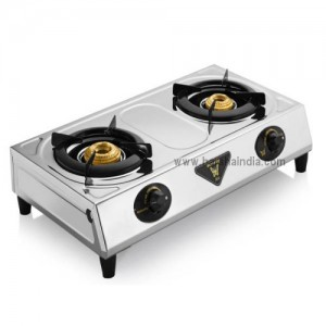 Butterfly Gas Stove SS 2 Burner Ace