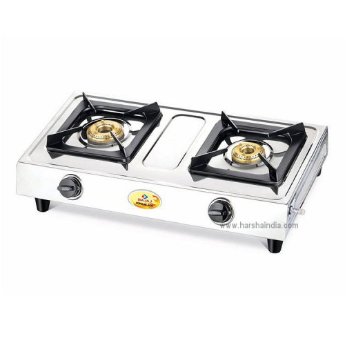 Bajaj Gas Stove 2 Burner Popular Eco