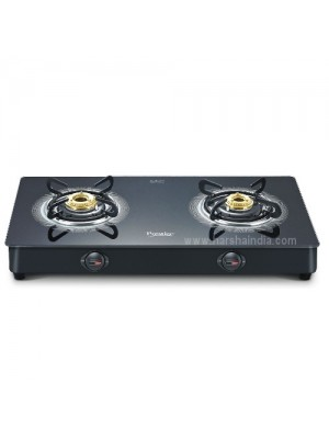 Prestige Gas Stove Glass Top 2 Burner GST Royale Plus Schott GT 02 40081